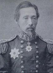 真木 長義(まき ながよし)海軍中将  戊辰(ぼしん)戦争で、電流丸艦長として活躍。退役後、男爵(だんしゃく)となる。