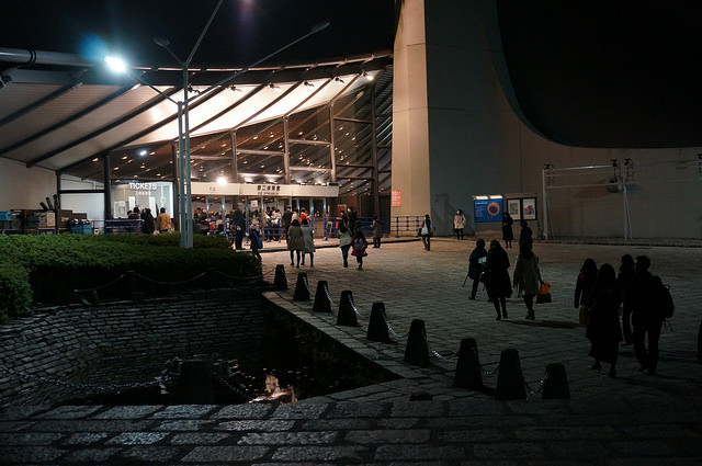 代々木体育館・1964年東京オリンピックの会場だった。