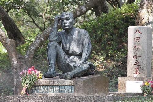 台湾 台南市にある八田與一氏の銅像