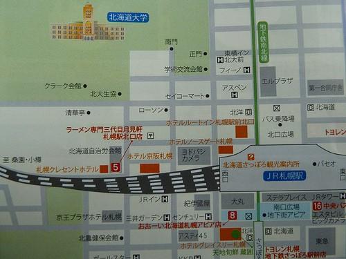 札幌駅地図