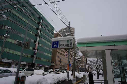 中島公園入り口(札幌市営地下鉄駅)