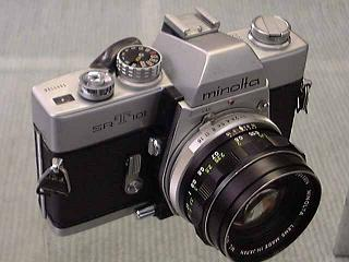 大村高校時代に使っていたカメラ