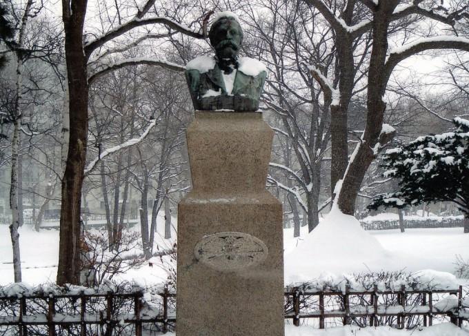 クラーク博士の銅像(北海道大学内)