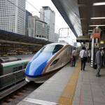 北陸新幹線 「かがやき」に乗車