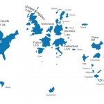 【中国は小さい】各国の株式時価総額を面積に反映させてみると