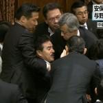 民主党は、暴力的な朝鮮系と支那(しな)系の集まりなんですか?