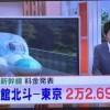 来年3月に開業する北海道新幹線 東京駅〜新函館[しんはこだて]駅