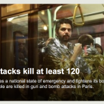 パリで同時多発テロ。NHKはちゃんと報道したのかな?