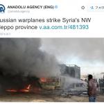 【動画あり】ロシア軍、トルコの救援車列を空爆か。いまのところ集団的自衛権のおかげで戦争になっていないのか