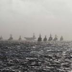 【動画あり】日米の大艦隊集結!海上自衛隊と米海軍の合同演習映像が公開されました