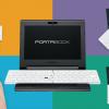 変形パソコン、ポータブックは2月発売