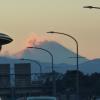 今年は雪が降らなかった富士山:横浜から見える場所