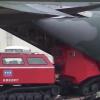 【サンダーバードからエヴァンゲリオン】自衛隊機で輸送可の全地形対応・レッド サラマンダー