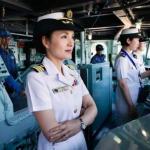 【ただ今から指揮を執(と)る】初の女性艦長:海上自衛隊 護衛艦DD-152(駆逐艦)やまぎり