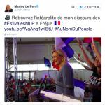 【フランス】日本のTVが伝えない次期大統領選に出馬するマリーヌ・ルペン党首