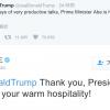【在校生向け】日米首脳がツイッターで会話する時代です