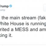【トランプ大統領】ウソのニュースメディアにだまされるなよ。それは敵だからな