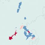 長崎県の限界集落マップ