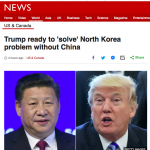 日本のマスコミが報道しない、朝鮮半島で開戦間近?の情報:米トランプ大統領の発言に注目