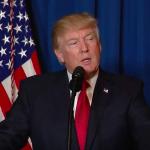 シリア攻撃を命じたトランプ米大統領の声明全文(英語+日本語訳)および動画