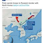 【開戦前】動画あり:ロシアが北朝鮮国境近くに軍隊を集結させている