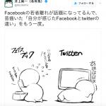 フェイスブックとツイッターの違い