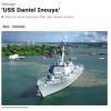 アメリカ海軍イージス艦ダニエル・イノウエ(DDG118)、2018年就役(しゅうえき)