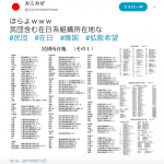 【開戦前】北朝鮮が戦争をおこした場合:近寄ってはいけない韓国施設リスト(大村、長崎、諫早にある