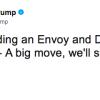 トランプ大統領がツィートした「大きな動き」の意味