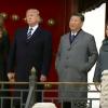 【中国に先進国の常識はない】トランプ大統領の前で、ポケットに両手を入れたまま、コート3つボタンのマナーも知らない習近平主席