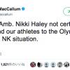 【開戦前】韓国平昌オリンピック、アメリカは選手団の派遣取りやめ検討か?