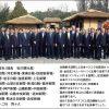 北朝鮮で記念写真を撮った新聞社の皆様