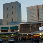 東京・品川にて:大村と品川