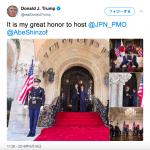 ツィッターでわかる、トランプ大統領が伝える安倍総理大臣、そして北朝鮮に関して