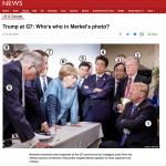 日本のTVが報道しないのに、外国メディアで大きく報道されたG7の一場面