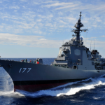 海上自衛隊(JMSDF)イージス艦「あたご(愛宕)」、ハワイ沖で弾道ミサイル迎撃テスト成功