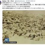 長崎県教育委員会にだまされないように:南京大虐殺の犠牲者の写真は、実は関東大震災の日本人被災者の写真